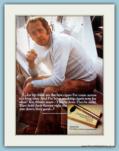 Imperial Panatella Cigars Original Advert 1973 (ref AD6143)