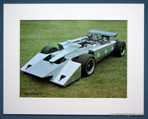 Cosworth V8 4WD 1969. Colour Photo Print 1975 (ref AD1333)