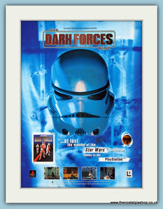 Star Wars Dark Forces Computer Game Original Advert 1999 (ref AD4032)
