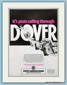 Dover Harbour Original Advert 1977 (ref AD2314)