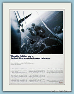 Royal Air Force Regiment Officer Original Advert 1997 (ref AD6310)