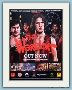 The Warriors Video Game Original Advert 2006 (ref AD3987)