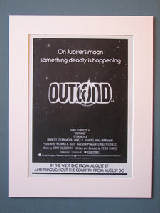 Outland Original Advert (ref AD471)