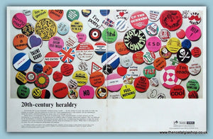 Rank Xerox Heraldry - Badges. Original Advert 1968 (ref AD3705)