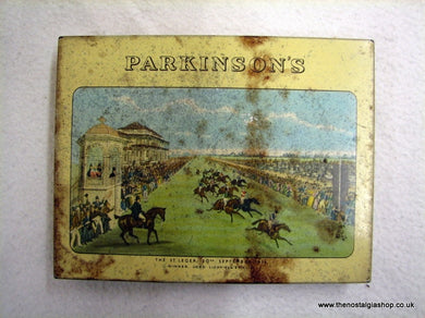 Parkinson's Royal Doncaster Butter-Scotch, Vintage Tin (ref nos085)