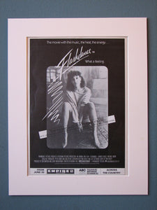Flashdance Original Advert (ref AD480)