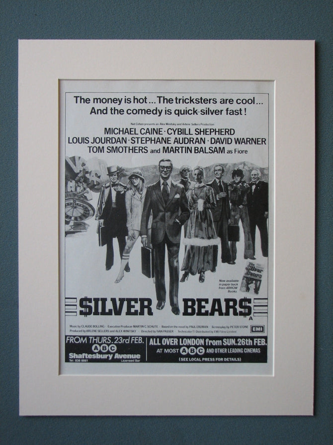 Silver Bears 1978 Original advert (ref AD441)