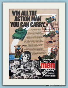 Action Man Assault Course Competition Original Advert  1982 (ref AD6422)
