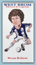 Load image into Gallery viewer, West Brom Heroes and Legends Football Card Set