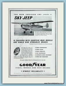 Chrislea CH3 Sky Jeep Original Advert 1951 (ref AD4269)