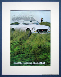 MGB. Original advert 1971 (ref AD1352)