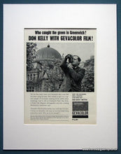 Load image into Gallery viewer, Gevacolor Film Set Of 4 Original Adverts 1963 (ref AD1075)