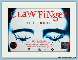 Clawfinger The Truth Original Advert 1993 (ref AD1980)