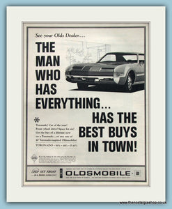 Oldsmobile Tornado Original Advert 1966 (ref AD8235)