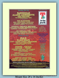 T In The Park 1996 Strathclyde Country Park Original Advert (ref AD9028)