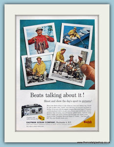 Kodak Brownie Super 27 Camera Original Advert 1963 (ref AD3899)