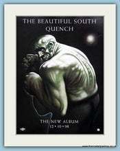 Load image into Gallery viewer, The Beautiful South Dumb-Quench Set Of 2 Original Music Adverts 1998 (ref AD3428)