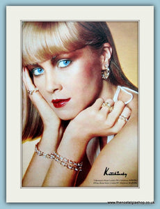 Kutchinsky Jewellery Set Of 2 Original Adverts 1976 (ref AD6259)