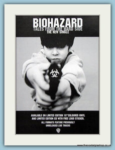 Biohazard State Of The World Address & Tales From The Hard Side 1994 Set Of 2 Original Music Adverts (ref AD3437)