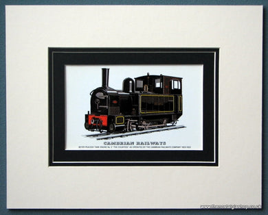 Cambrian Railways 'The Countess'  Mounted Print (ref SP86)