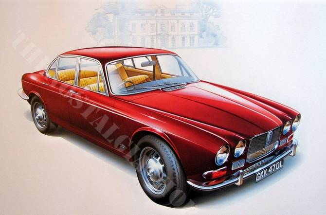 Jaguar XJ12 Series 1 Saloon 1972  large  print
