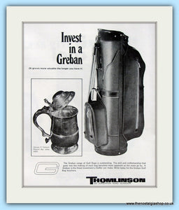 Greban Golf Bags. Original Adverts 1969 (ref AD4972)