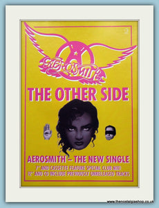 Aerosmith The Other Side1990 Original Advert (ref AD3125)