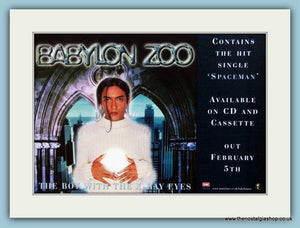Babylon Zoo Original Advert 1996 (ref AD1879)