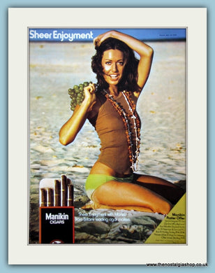 Manikin Cigars Original Advert 1974 (ref AD6132)