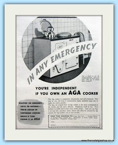 AGA Cooker. Original Advert 1938 (ref AD4751)