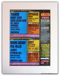 V 2000 Festival  Advert. Travis, Paul Weller (ref AD1816)
