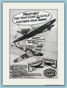 Airfix Fighter Planes Original Advert 1980 (ref AD6420)