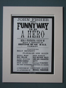 Funny Way to be a Hero 1973 Original advert (ref AD507)