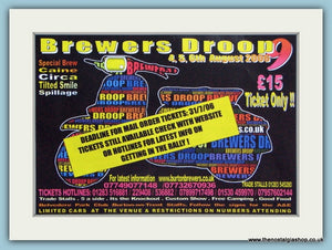 Brewers Droop Scooter Event 2006 Original Advert (ref AD4660)
