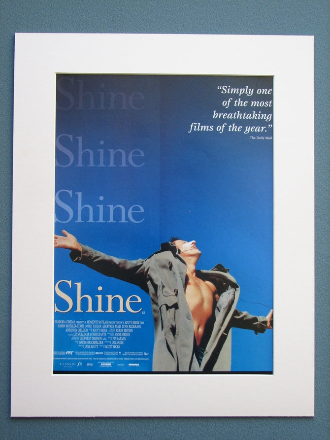 Shine 1997 Original advert (ref AD682)