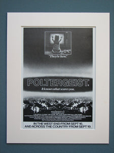 Poltergeist 1982 Original advert (ref AD598)