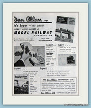 Load image into Gallery viewer, Model Railways Ian Allan Set Of 3 1962 Original Adverts (ref AD2872)