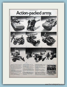 Action Man Transport Command From Palitoy Original Advert 1979 (ref AD6437)