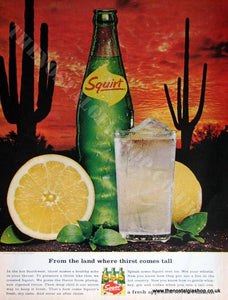 Squirt Drink 1966 Original Advert (ref AD4018)