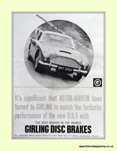 Load image into Gallery viewer, Aston Martin DB5 Set Of 4 Original Adverts 1963 (ref AD6722)