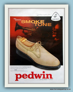 Pedwin Shoes. Original Advert 1958 (ref AD8195)