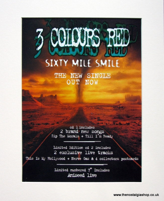 3 Colours Red 1997 Original Advert (ref AD933)