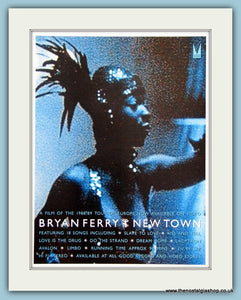 Bryan Ferry New Town 1989 Original Advert (ref AD3302)