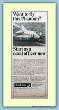 Load image into Gallery viewer, Royal Navy, Phantom Jet. Set of 3 Original Adverts 1960's (ref AD6051)