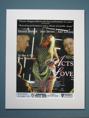 Acts of Love 1997 Original advert (ref AD789)