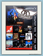 Load image into Gallery viewer, Aerosmith Nine Lives. Pandora's Box, Pandora's Toys 1990's Set Of 3 Original Adverts (ref AD3132)