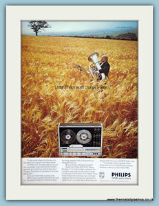Philips Hi-Fi Recorder Original Advert 1973 (ref AD3872)