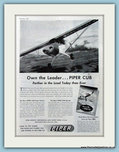 Piper Cub. Original Advert 1947 (ref AD4222)