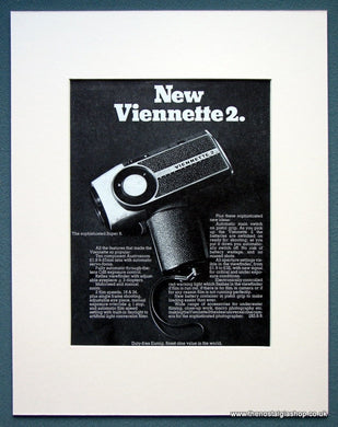 Viennette 2 Eumig 1968 Original Advert (AD1065)