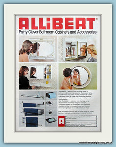 Allibert Cabinets And Accessories Original Advert 1975 (ref AD3905)